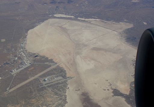 Photo of Edwards AFB by S Brown
