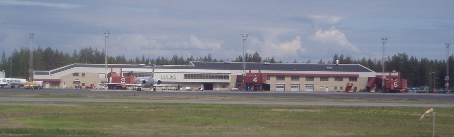 Photo of Luleå Airport by Graham Thomas