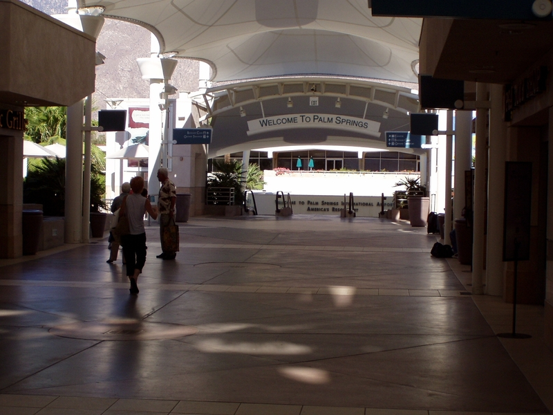 Photo of Palm Springs International Airport by Scott Brown