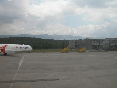 Photo of Rijeka Airport by David Gethyn-Jones