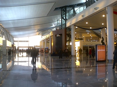 Photo of Tbilisi International Airport by Bruce Tyson
