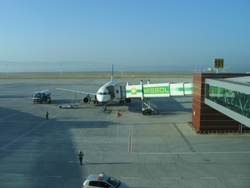 Photo of Tbilisi International Airport by E. N. Smit