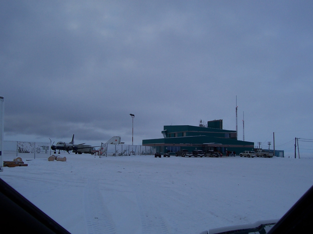 Photo of Rankin Inlet Airport by C. Prins