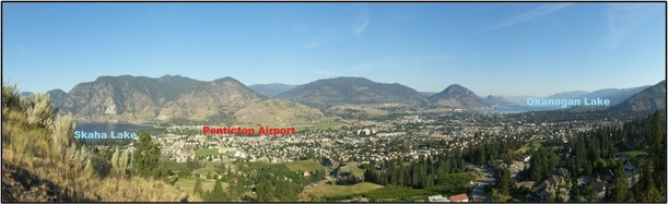 Photo of Penticton Airport by A. Mahon