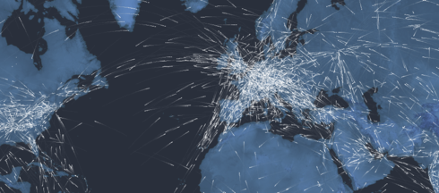 Map celebrates a 100 years of aviation