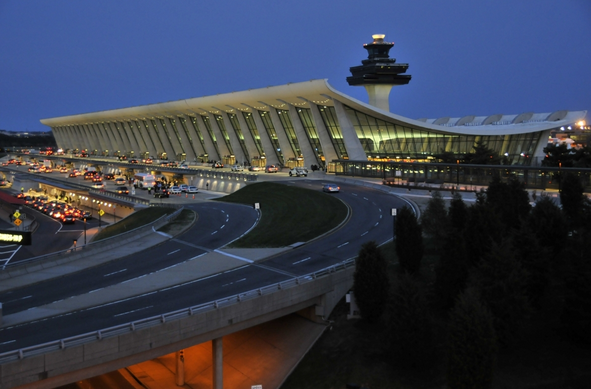 Washington Dulles Airport features in our favourite flying films